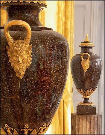 vases en porphyre