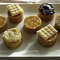 Mini gâteau de crêpes pour buffet (14)