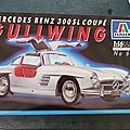 Mercedes 300SL coupé GULLWING