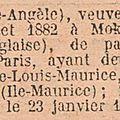 Manes Marie Angele_Veuve Paul Montocchio née 1882_nationalité française_JO 1930