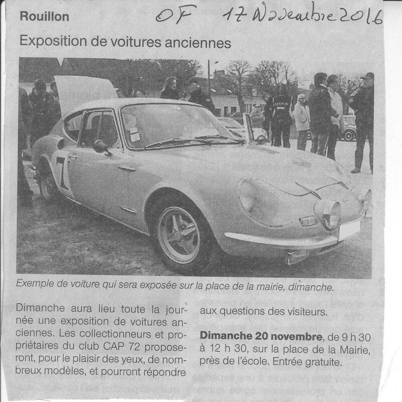Avant Rouillon et Ouest France