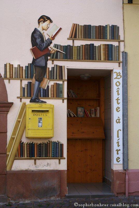 Ribeauvillé boîte à livres