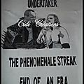Undertaker ! the phenomenal streak - end of an era