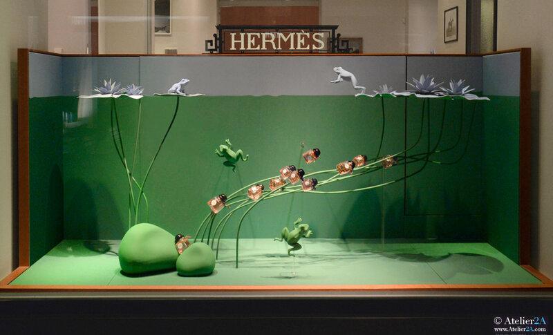 Vitrine Hermès