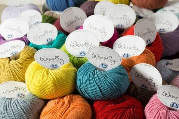 laines DMC Woolly