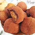 Pepernoten déguisés en truffes au chocolat à offrir ou à grignoter