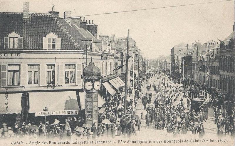 341_001_calais-o-lefebvre-angles-des-boulevards-lafayette-et-jacquard-fete-de-l-inauguration-des-6-bourgeois