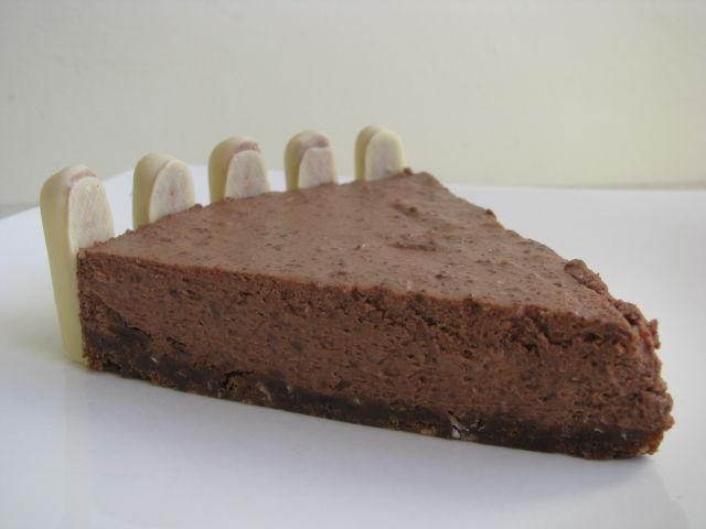cheesecake au chocolat sans cuisson la cuisine de chris. Black Bedroom Furniture Sets. Home Design Ideas