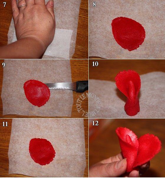 pour faire les feuilles colorer la pte - Comment Colorer La Pate D Amande