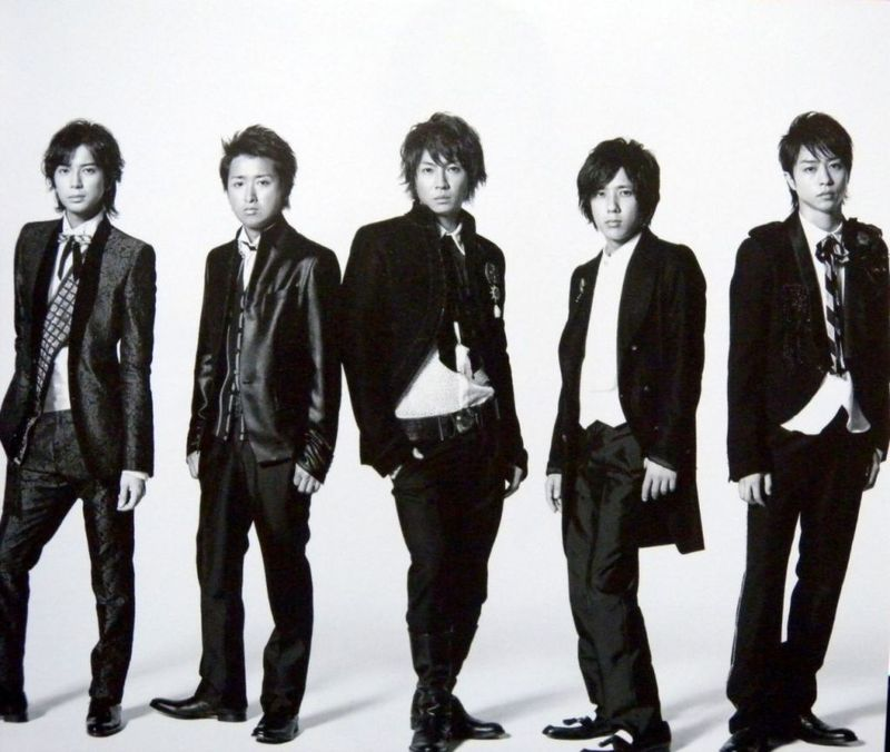 ARASHI 5X10 All The BE...