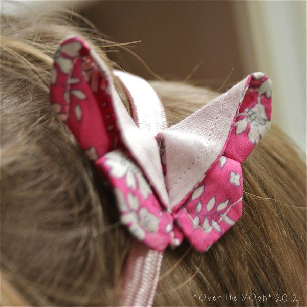 Headband origamibutter rose