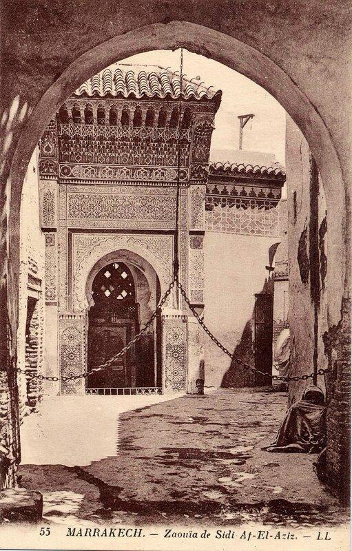 55LL_CP M'Kech ancien_Zaouïa Sidi Afiz 01