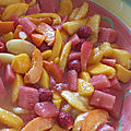 Salade de fruits d'eté