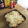 Crumble à la tomate et parmesan