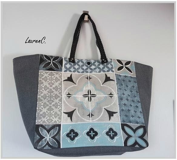 SAC GRIS CELADON CARREAUX CIMENT