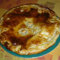 Galette des rois chocolat pralin, noisette