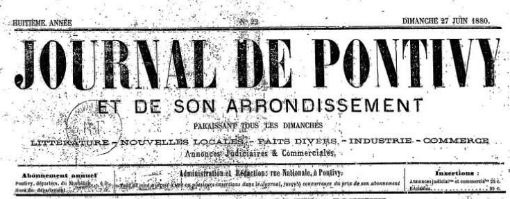 Presse Journal de Pontivy 1880_1