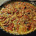 Tarte tomate/mozarella