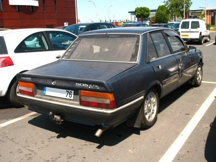 peugeot 505 gtd turbo 1986 1989 autos crois es. Black Bedroom Furniture Sets. Home Design Ideas