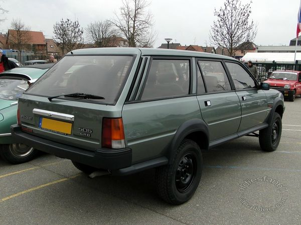 peugeot 505 dangel, 1985 1990, Bourse de chatenois 2013 4