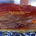 La tarte tatin (façon) philippe conticini