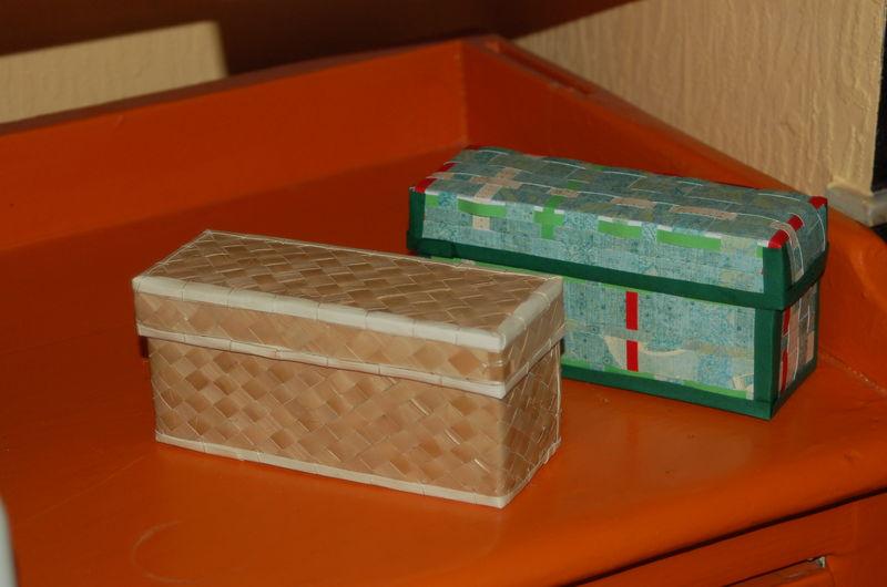 Tuto boite tress e en papier ce que kobaitchi raconte - Tuto boite en carton ...