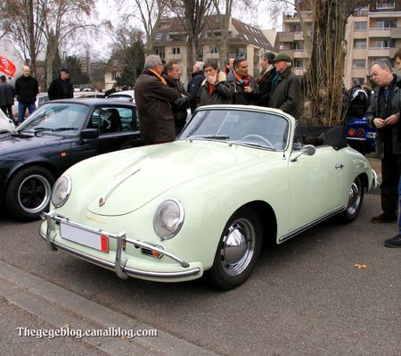 Porsche 356 1600 spider (Retrorencard mars 2012) 01