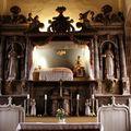 Le Yaude, chapelle Notre Dame, maître autel