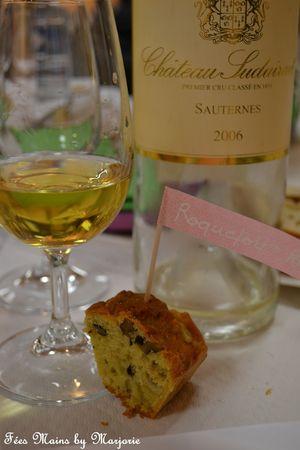 Sauternes, cake