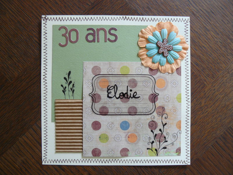 scrapbooking 30 ans
