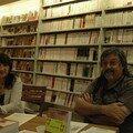 Deux auteurs ravis de se rencontrer pf