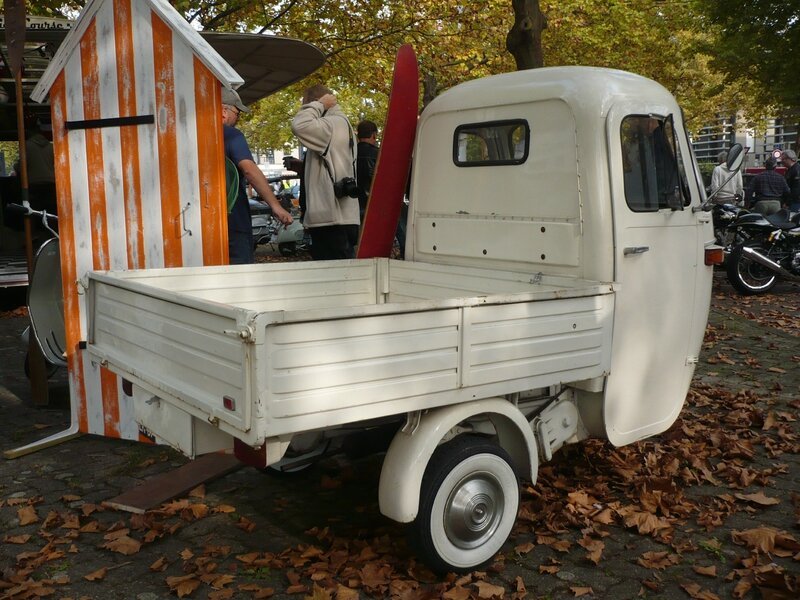 piaggio vespa ape triporteur 1963 vroom vroom. Black Bedroom Furniture Sets. Home Design Ideas