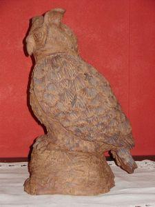 Grand Duc terre maïs cuisson gaz sculpture 40cm (1)