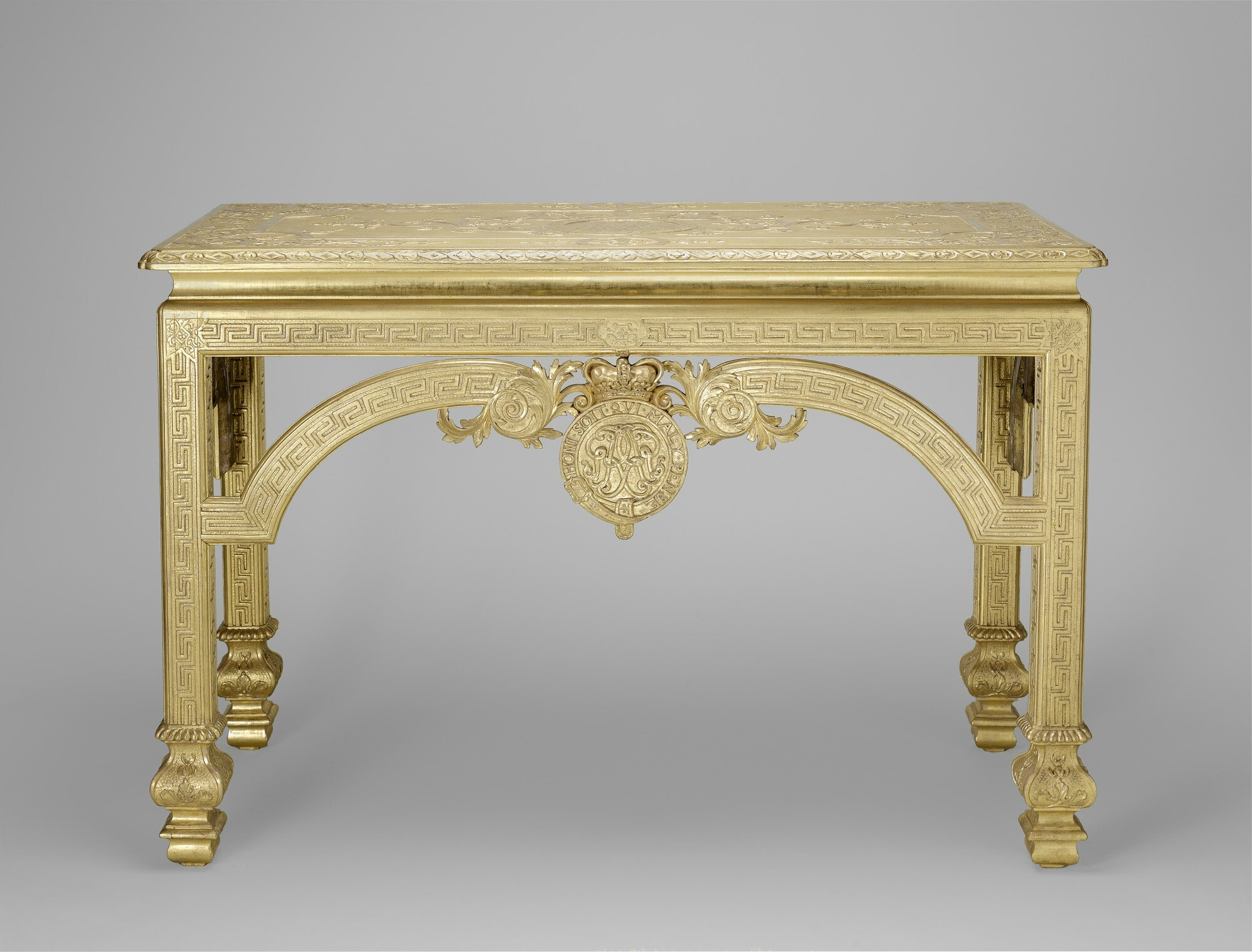 Marvelous Gilded And Gessoed Walnut And Oak, 84.0 X 124.0 X 57.0 Cm. RCIN 1102. Royal  Collection Trust/© Her Majesty Queen Elizabeth II 2014