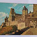 Carcassonne chateau Comtal
