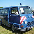 Renault estafette gendarmerie 1980