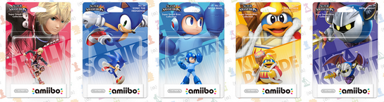 4ème vague d'amiibo: 5 amiibos