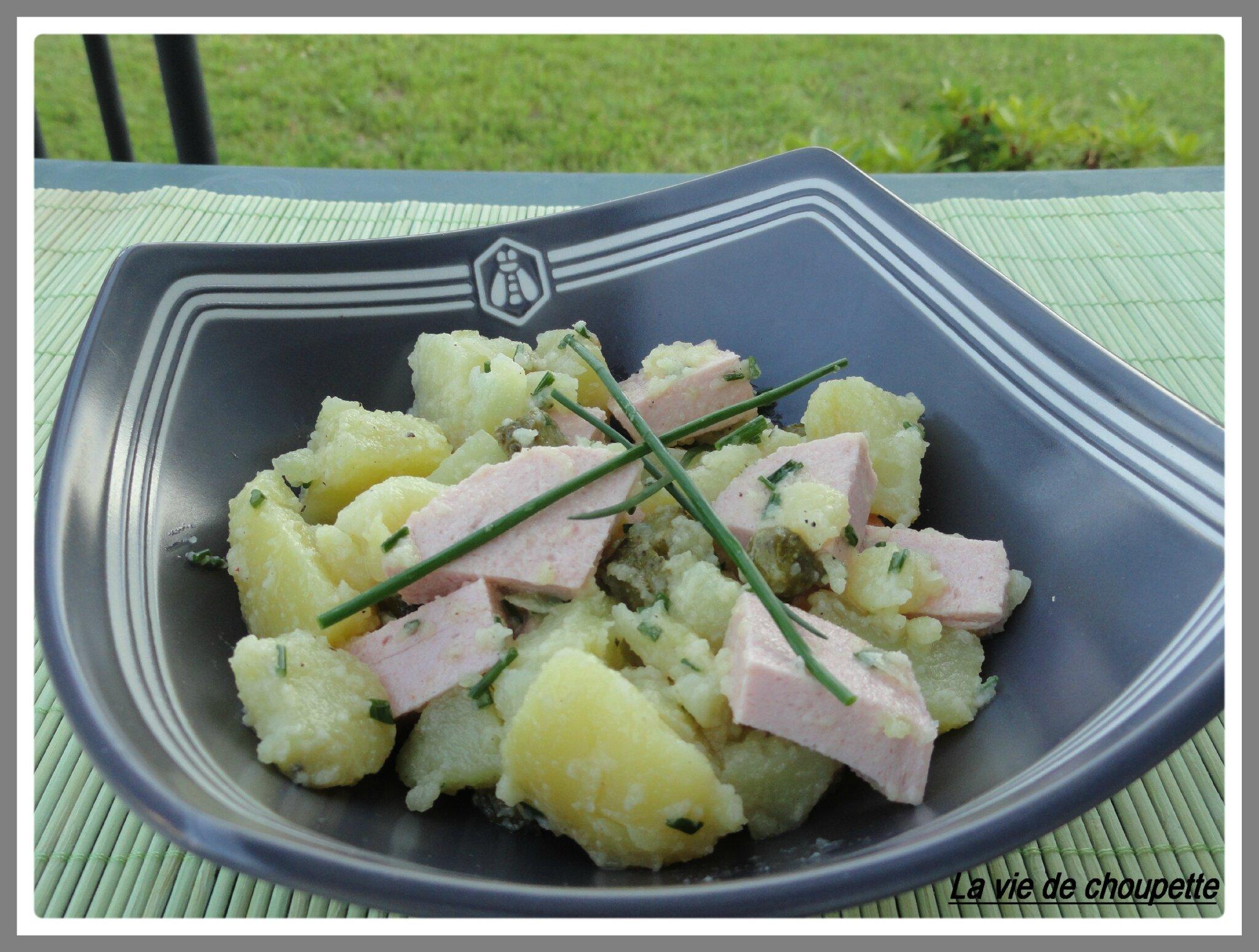 salade de pommes de terre et cervelas quand choupette et papoune cuisinent. Black Bedroom Furniture Sets. Home Design Ideas