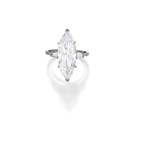 Platinum and Diamond Ring, Harry Winston