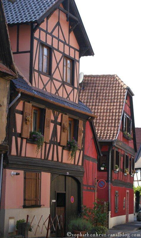 Obernai rue colorée
