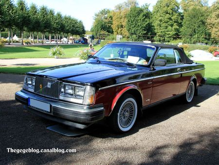 Volvo 262 cabriolet de 1981 (9ème Classic Gala de Schwetzingen 2011) 01