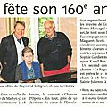 Article du journal l'avenir