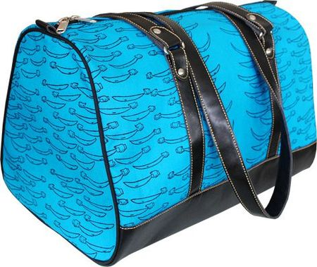 travel bag blue