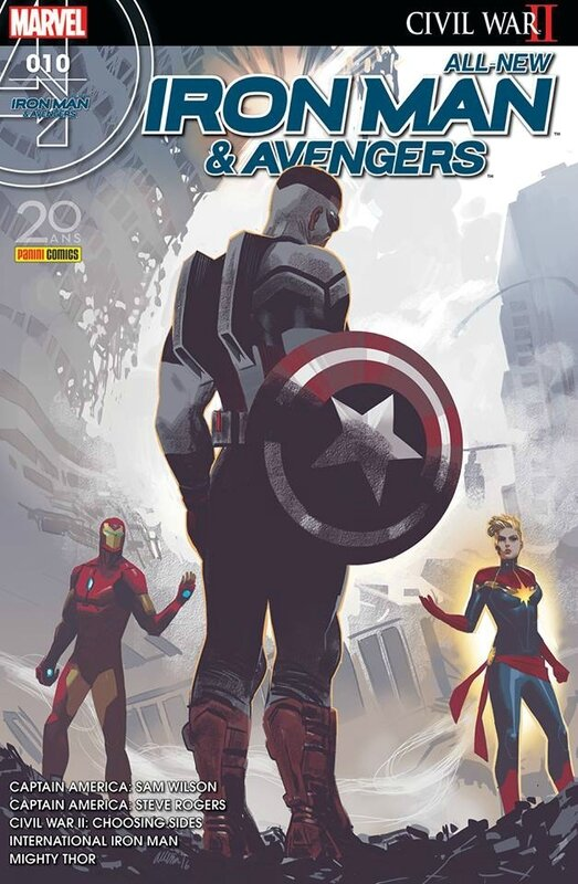 all new iron man & avengers 10
