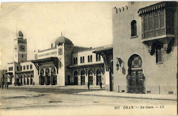 Oran- La gare PLM 27