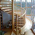 Escalier-toboggan ?