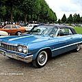 Chevrolet Impala convertible de 1964 (9ème Classic Gala de Schwetzingen 2011) 01