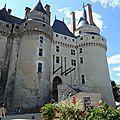 Le château de langeais le 06 août 2017 -