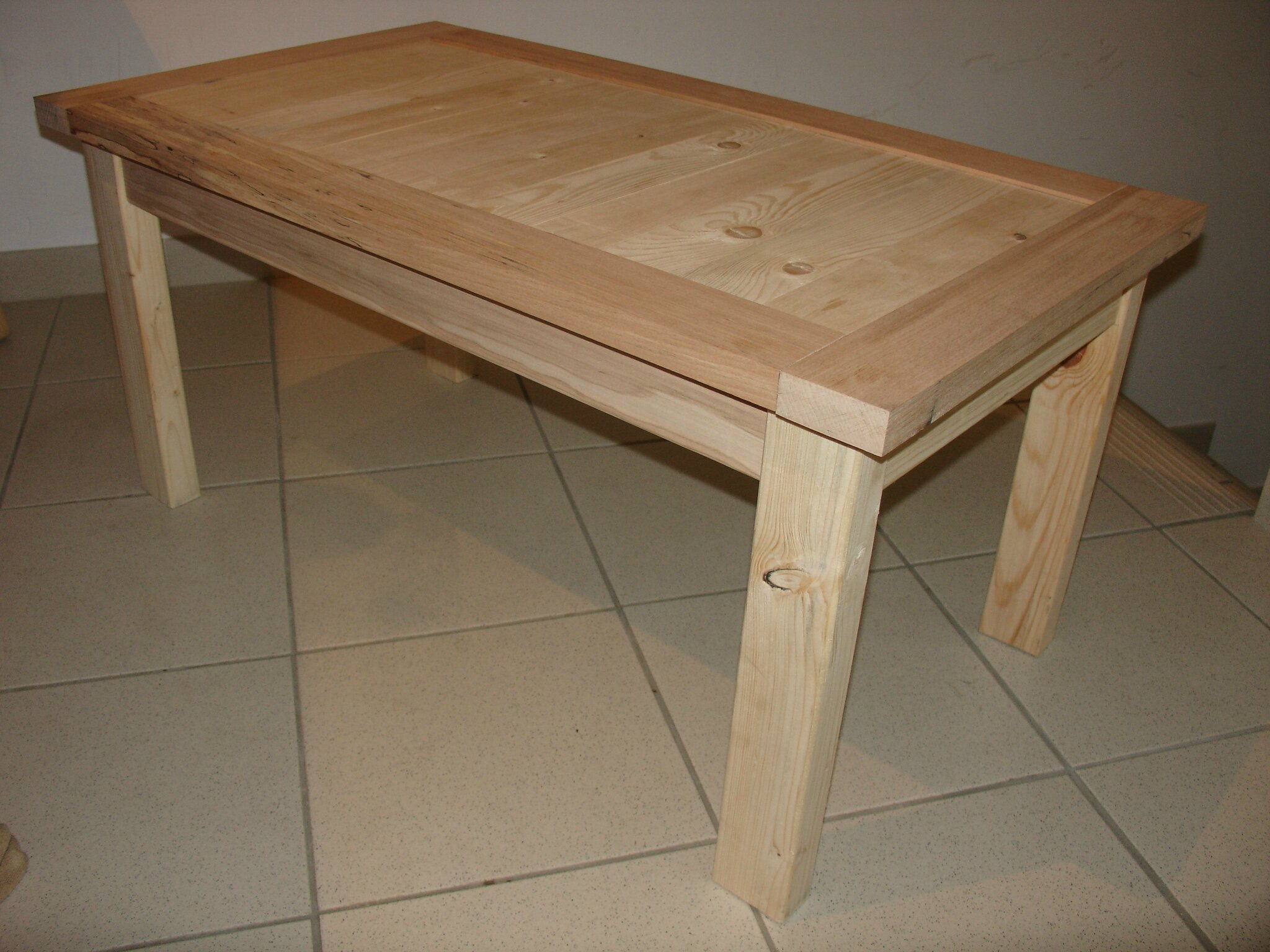 Diy table basse coffre for Table en palette