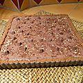 Tarte Speculoos au chocolat et Toblerone sans cuisson